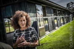 Minister Van Engelshoven bezoekt Kamp Westerbork