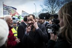 Boze actievoerders eisen maatregelen van minister Wiebes